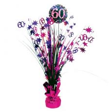 Dekorácia na stôl 60 ružová