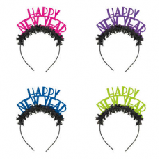 Čelenky Happy New Year 4 ks