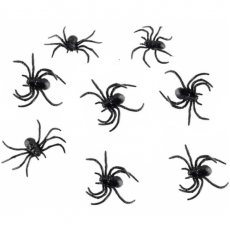 Strašidelné zvieratká - Netopiere 6 ks 5x3 cm
