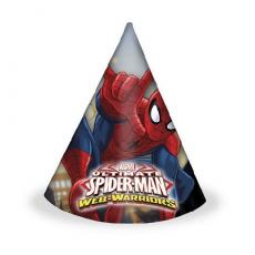 Party klobúky Spiderman
