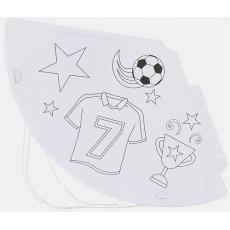 Party klobúky Futbal