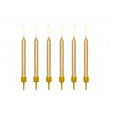 Sviečky hladké 6 cm