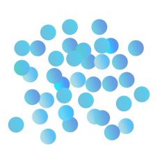 Konfety sypané modré fóliové 1,5 cm