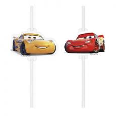 Papierové slamky Cars