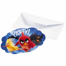 Pozvánky Angry Birds
