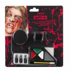 Farby na tvár Halloween Zombie