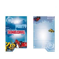 Pozvánky Transformers /8ks/