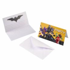 Pozvánky Lego Batman /8ks/