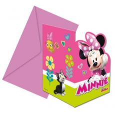 Pozvánky Minnie Mouse