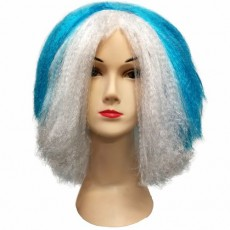 Parochňa Krátka modro-biela