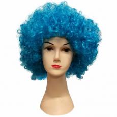 Parochňa Afro - modrá