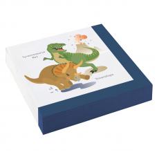 Servítky Happy Dinosaur