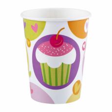 Poháre Cupcake