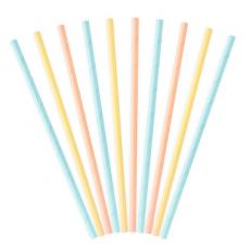 Papierové slamky farebné