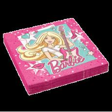 Servítky Barbie Popstar