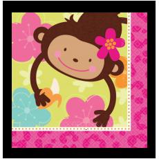 Servítky Opička