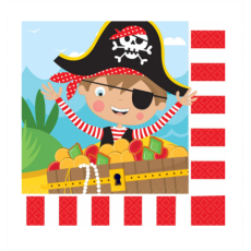 Servítky Pirát