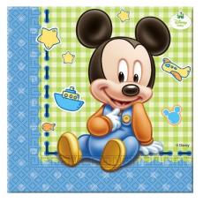 Servítky Mickey Mouse baby