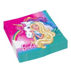 Servítky Barbie