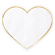Servítky Srdce