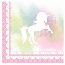 "Servítky Jednorožec ""Believe in unicorns"""