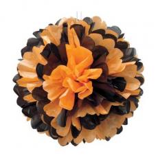 Pom Pom oranžovo čierny brmbolec
