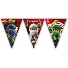 Vlajky Lego Ninjago papierové