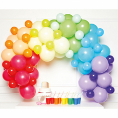 Balónová girlanda Dúha