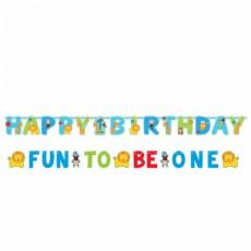 Banner Happy Birthday 1 narodeniny