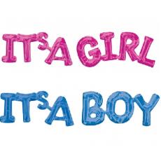Balónový banner It´s BOY / GIRL