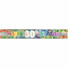 Banner narodeniny 30
