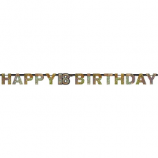 Banner Happy Birthday číslo 18