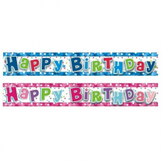Narodeninový Banner Happy Birthday