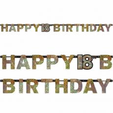 Banner Happy Birthday číslo 18