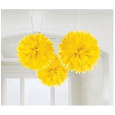 Pom pom žltý brmbolec