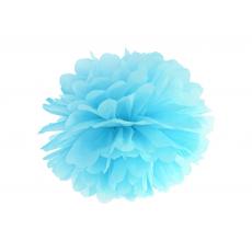 Pom pom modrý sky blue brmbolec