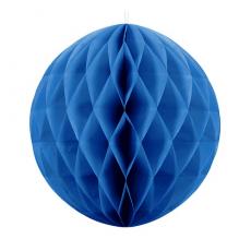 Papierová guľa modrá
