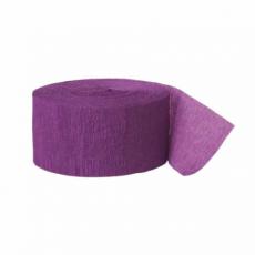 Krepová stuha fialová