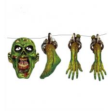 Zombie girlanda 150 cm