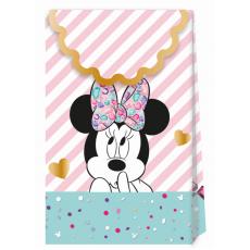 Darčeková taška Minnie Mouse 6ks papierová