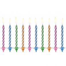 Tortové sviečky nesfúknuteľné