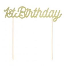 Ozdoba na tortu 1. narodeniny