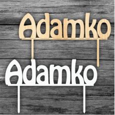 Zápich na tortu Adamko