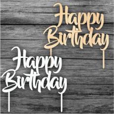 Tortový zápich Happy Birthday