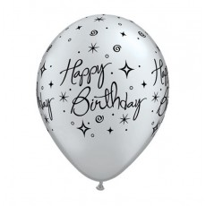 Balón Set Happy Birthday 6 ks Q 11´´