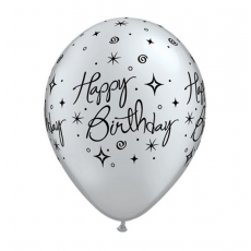 Balón Set Happy Birthday 6 ks Q 11´´