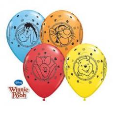 Balóny Macko PU / Winnie The Pooh Q 11´´ RND