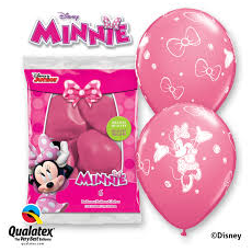 Balóny Minnie 6ks Q 12´´