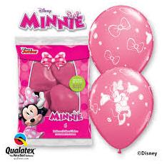 Balóny Minnie 6ks Q 12´´