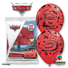Balóny Cars McQueen 6ks Q 12´´